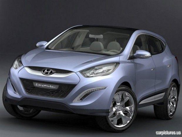 Hyundai Ix Onic Concept Compact Suv Hyundai Motor Hyundai