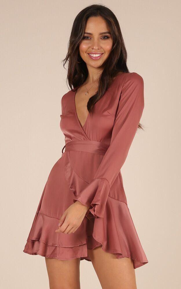 Wrap Ruffle Dress Sewing pattern