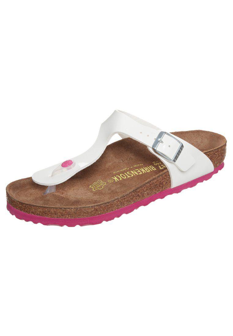 Birkenstock T-bar sandals - weiß vmLOOWm