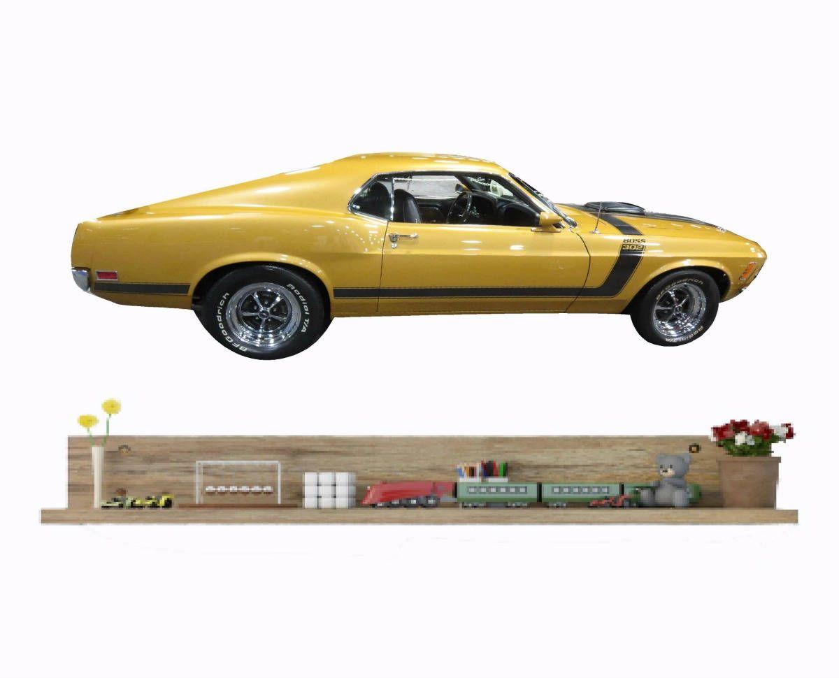 Car Wall Decal 1970 Ford Mustang Boss 302 Clic Decor