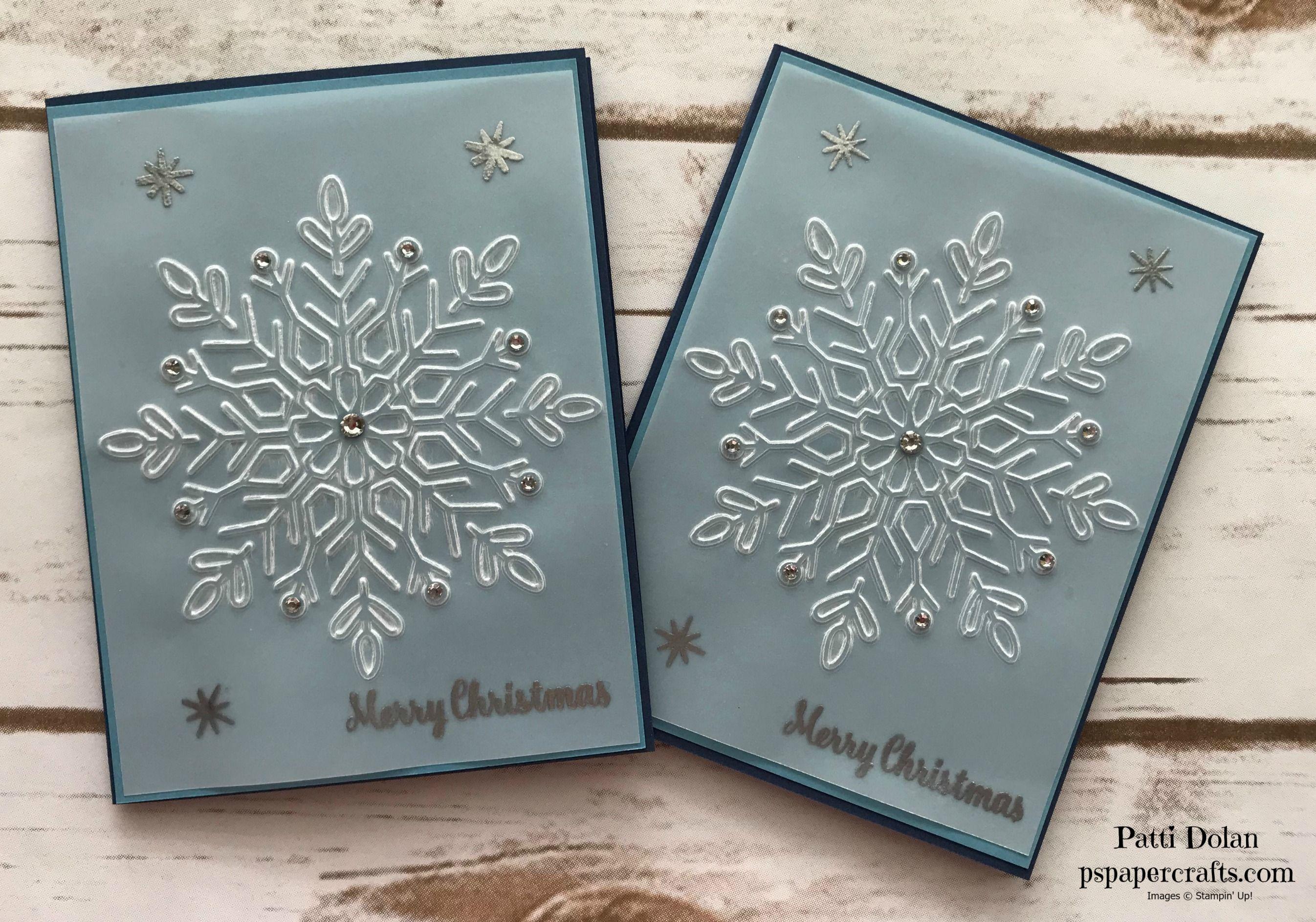 Beautiful Snowflake Christmas Card - Week 11 of 12 Weeks of ...