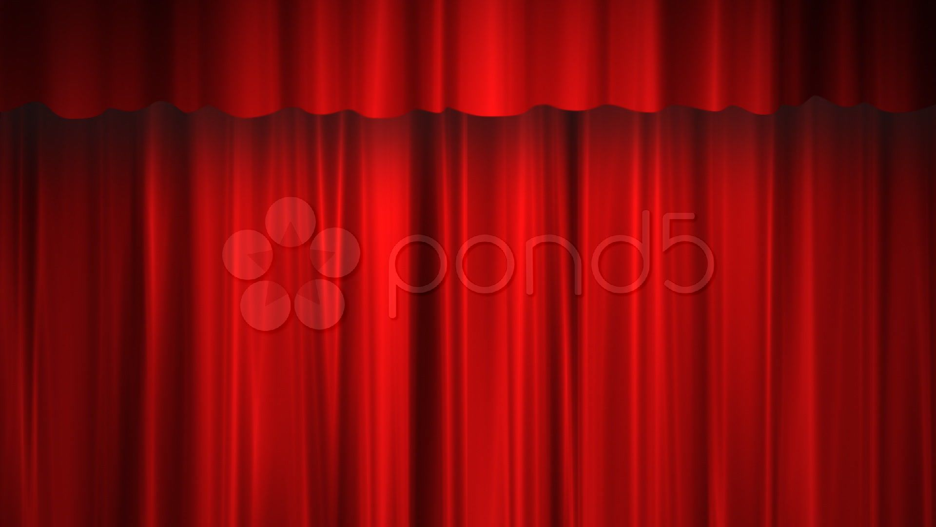red curtain green screen stock footage