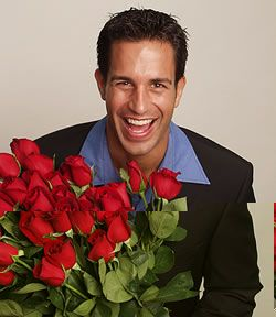 Red Roses for the Beloved Man!