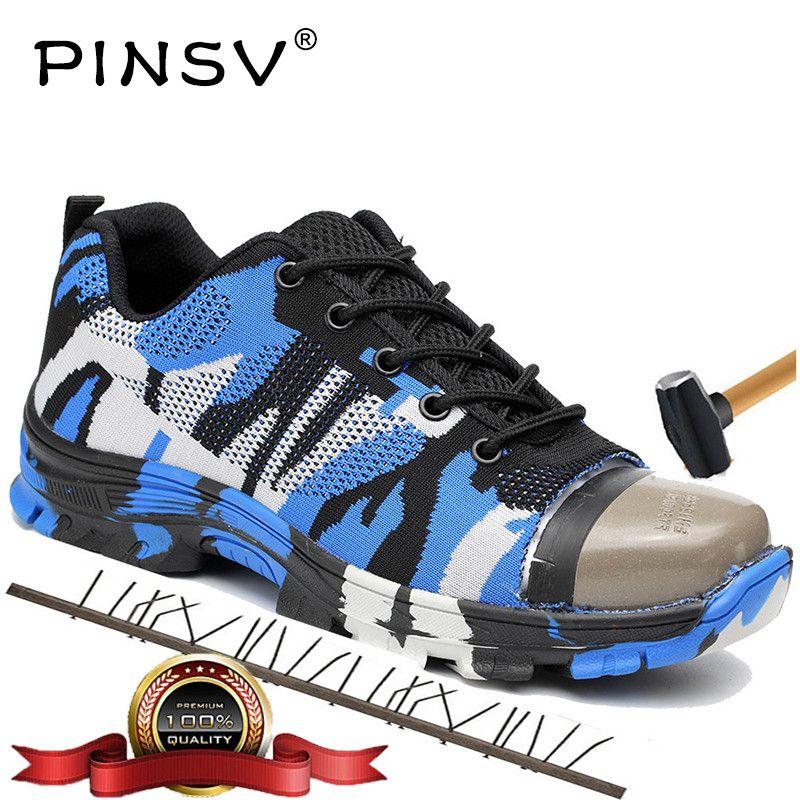 Big Size 36-46 Unisex Safety Shoes Men