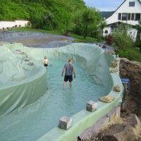 Schwimmteich bei Tuttlingen   Mielke's Naturbadeteich
