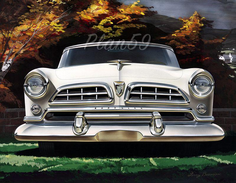 Classic Car Art Chrysler Windsor Deluxe