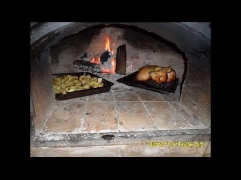 Aprende como hacer un horno de barro facil 1 youtube cocinar con le a outdoor oven oven y - Como cocinar en un horno de lena ...