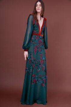 J. Mendel Pre-Fall 2018 Fashion Show