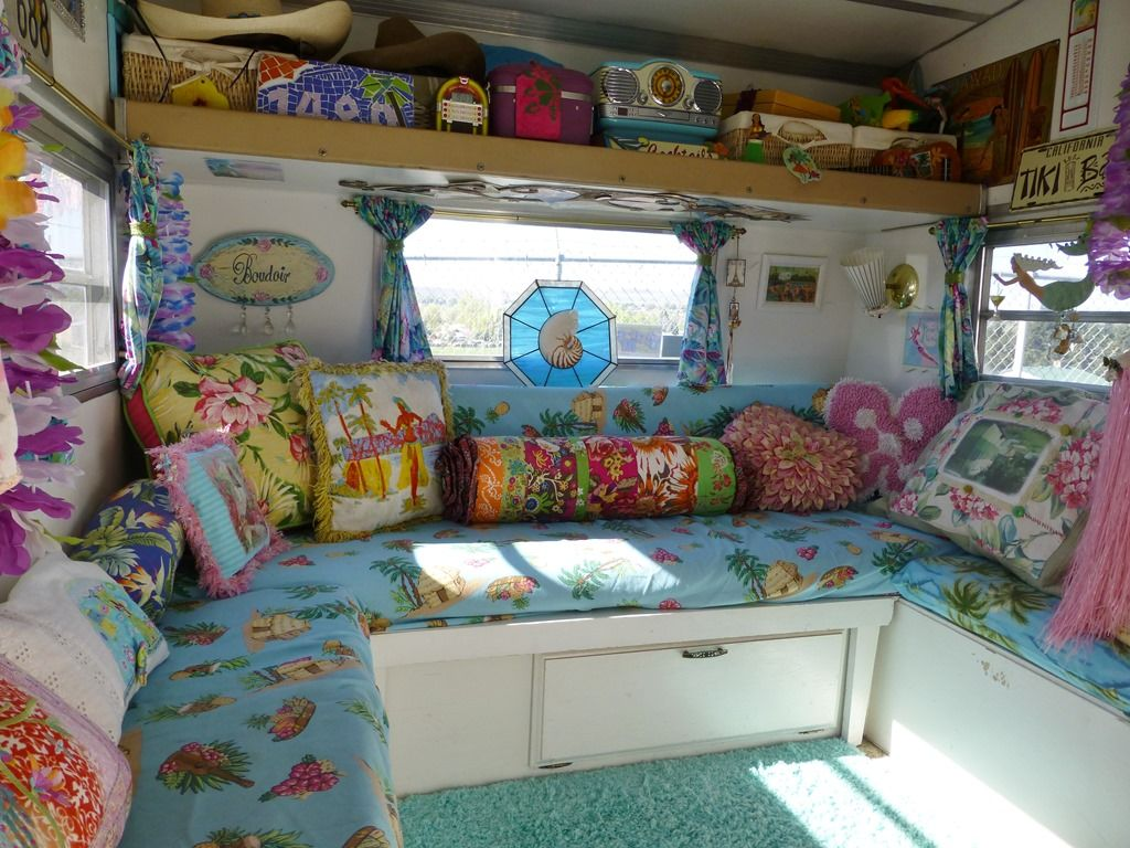 Island Girl vintage trailer | Vintage Campers & RV's