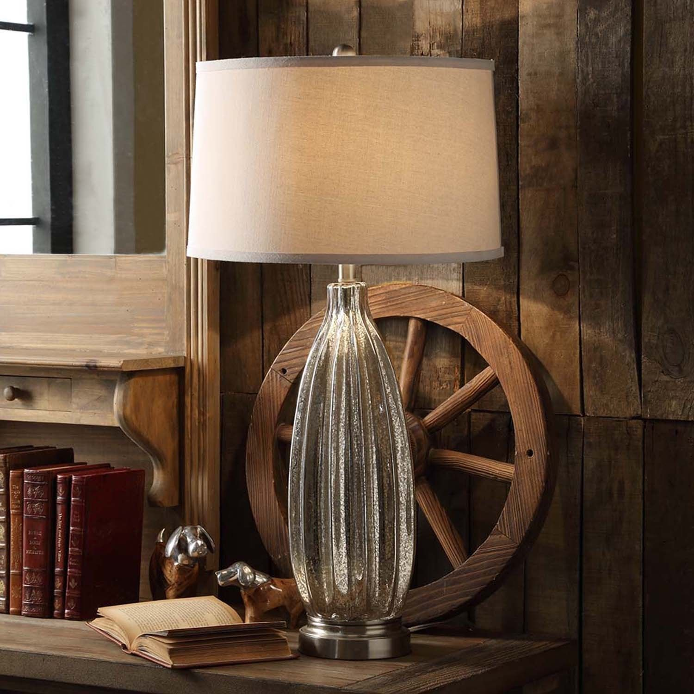 Tribecca Home Kaden 1-light Accent Table L& & Tribecca Home Kaden Glass 1-light Accent Table Lamp (Table Lamp ... azcodes.com
