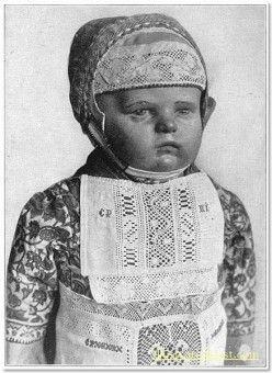 Child's Costume from Marken c. 1916