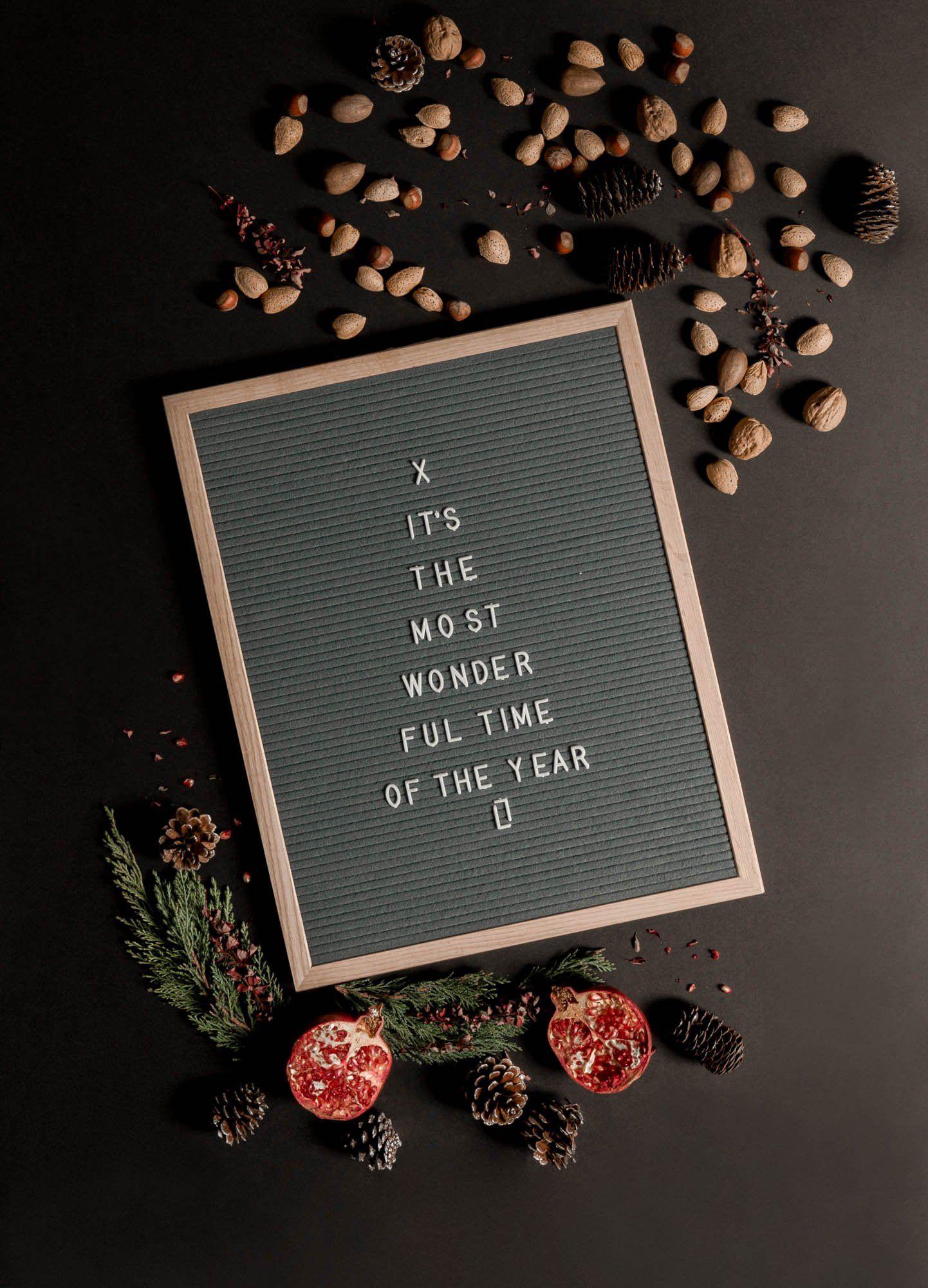 9 Christmas Letter Board Ideas