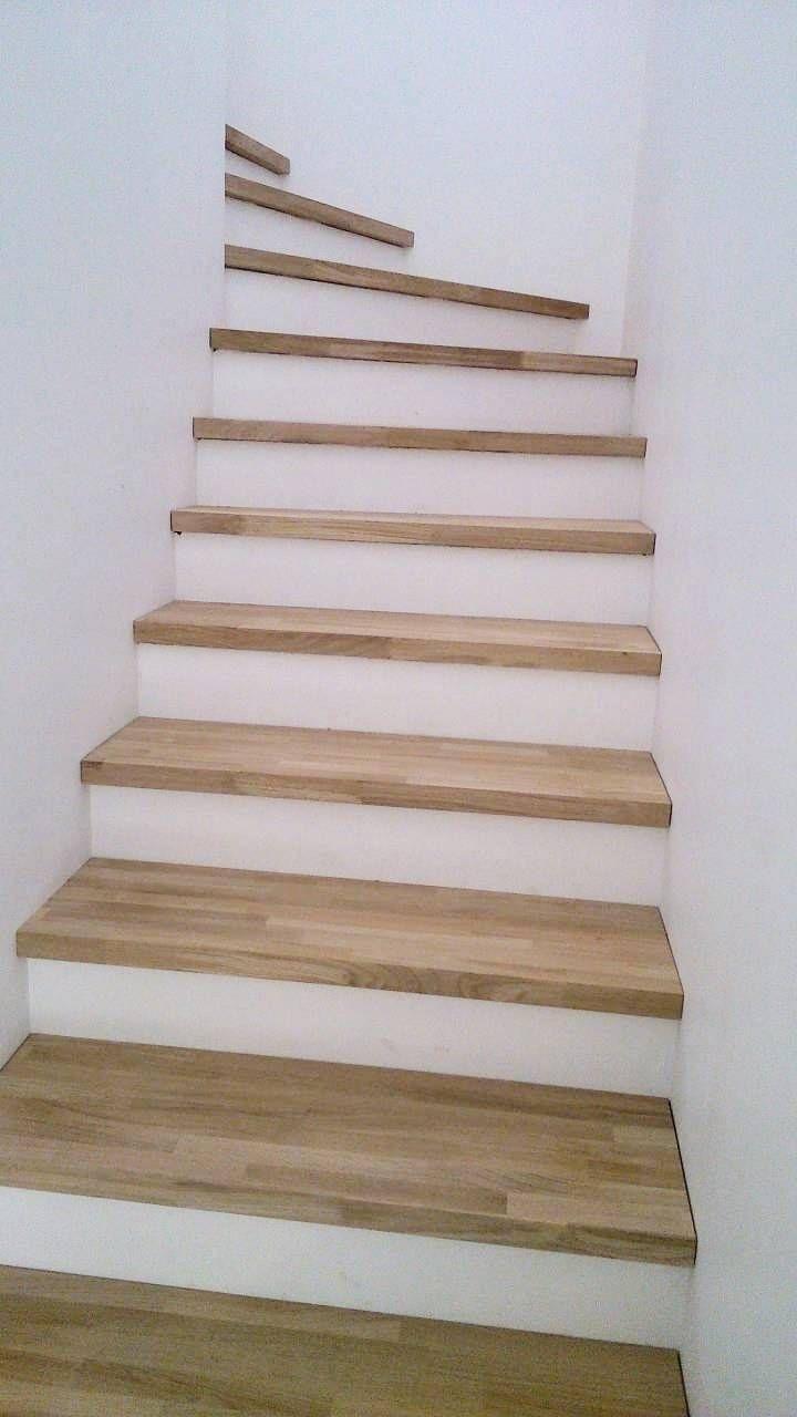 Vous Avez Un Escalier Beton Dans Votre Habitation Et Vous Souhaitez Couvrir En Bois Les Marches De Cet Es Escalier Beton Idee Deco Escalier Decoration Escalier