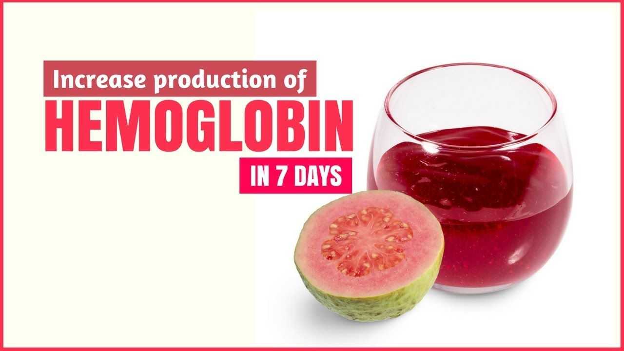 How to increase hemoglobin at home 39