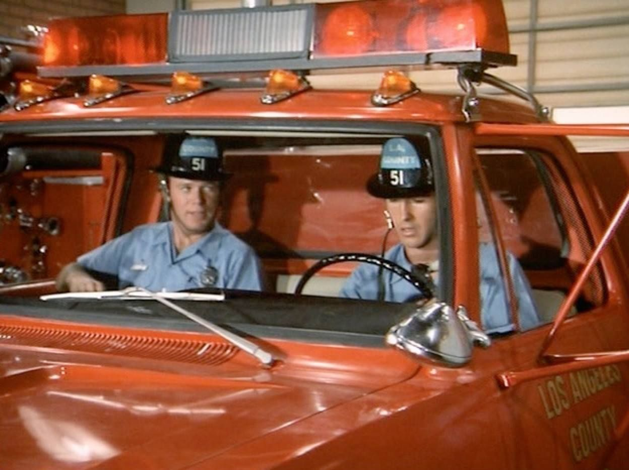 Image from my Facebook page Station 51 Enterprises. Images are copyright @NBC Universal. #emergencytvshow #johnnygage #roydesoto