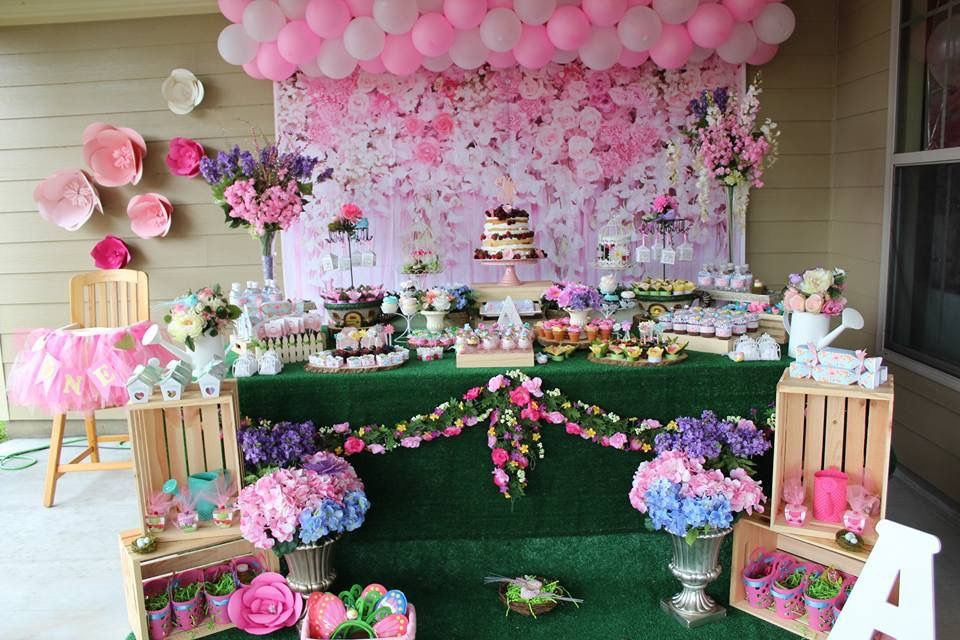 Pin by Michelle Wap on Birthday party Garden party