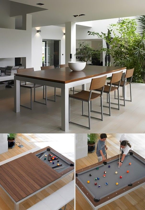 La table à manger – billard | H o m e | Pinterest | Billard, Les ...