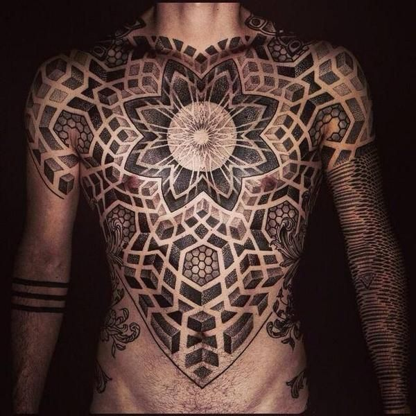 Top 144 Chest Tattoos For Men Geometry Tattoo Chest Tattoo Men Sacred Geometry Tattoo