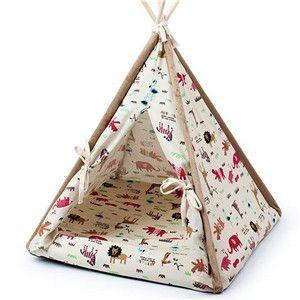 Cool Pattern Modern Pet Bed Dog Tent Cat Tent Diy Cat Tent