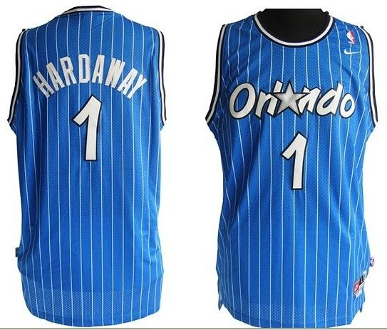 c4e2092b0 Anfernee Penny Hardaway Jersey Retro Swingman 1 Orlando Magic LIGHT  BLUE