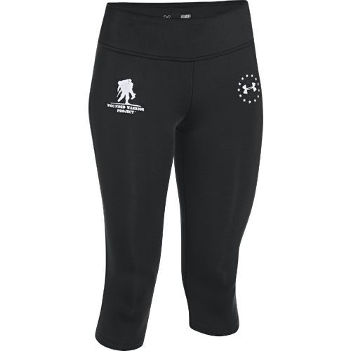 Women's Wounded Warrior Project Under Armour Capri