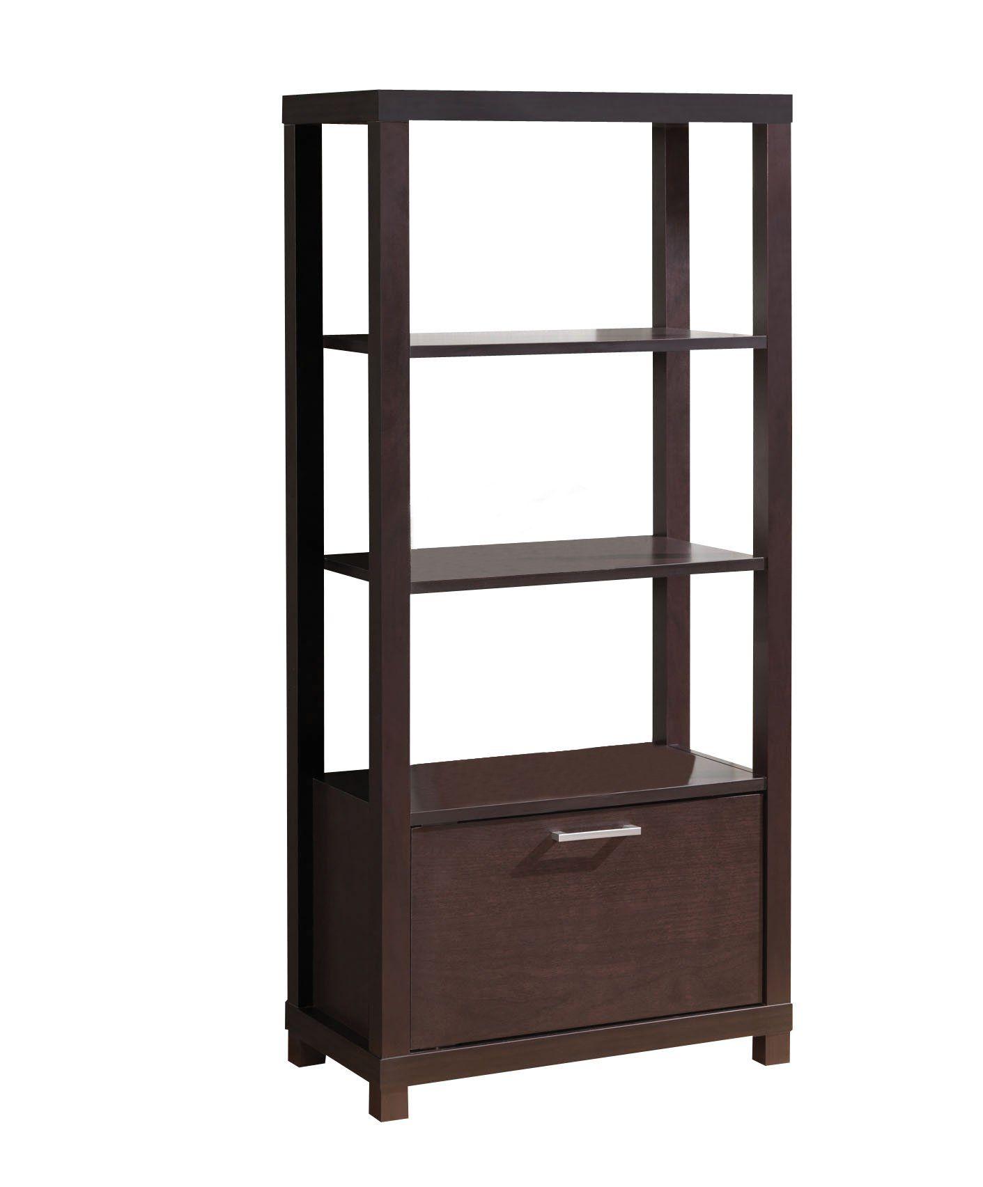 Acme Furniture 92065 Carmeno Bookcase Espresso ** Visit The Image