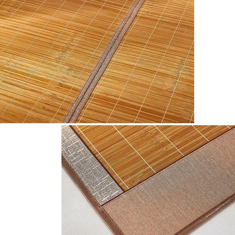 Cool Mattressbamboo Bedding Straw Mat Summer Sleeping Mats Bedmat Collapsible Doublesided Use Dorm Room Shuimo Sectio Sleeping Mat Bamboo Bedding Mattress Pads