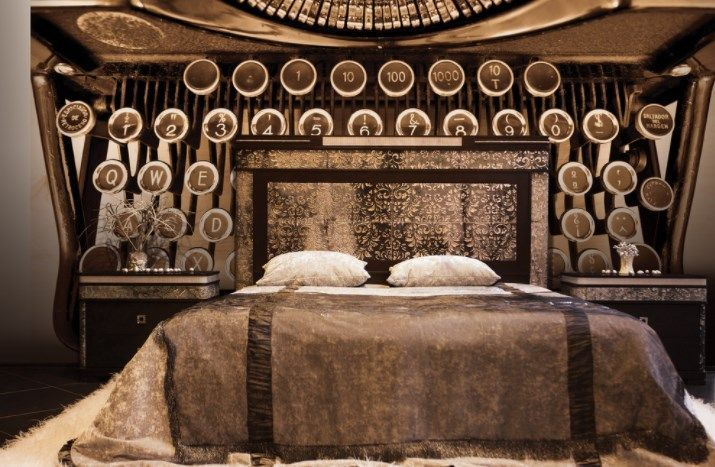 23 DIY Steampunk Bedroom Decor Ideas U0026 Designs, Accessories And Art |  Steampunk Furniture, Steampunk Interior And Bar Art