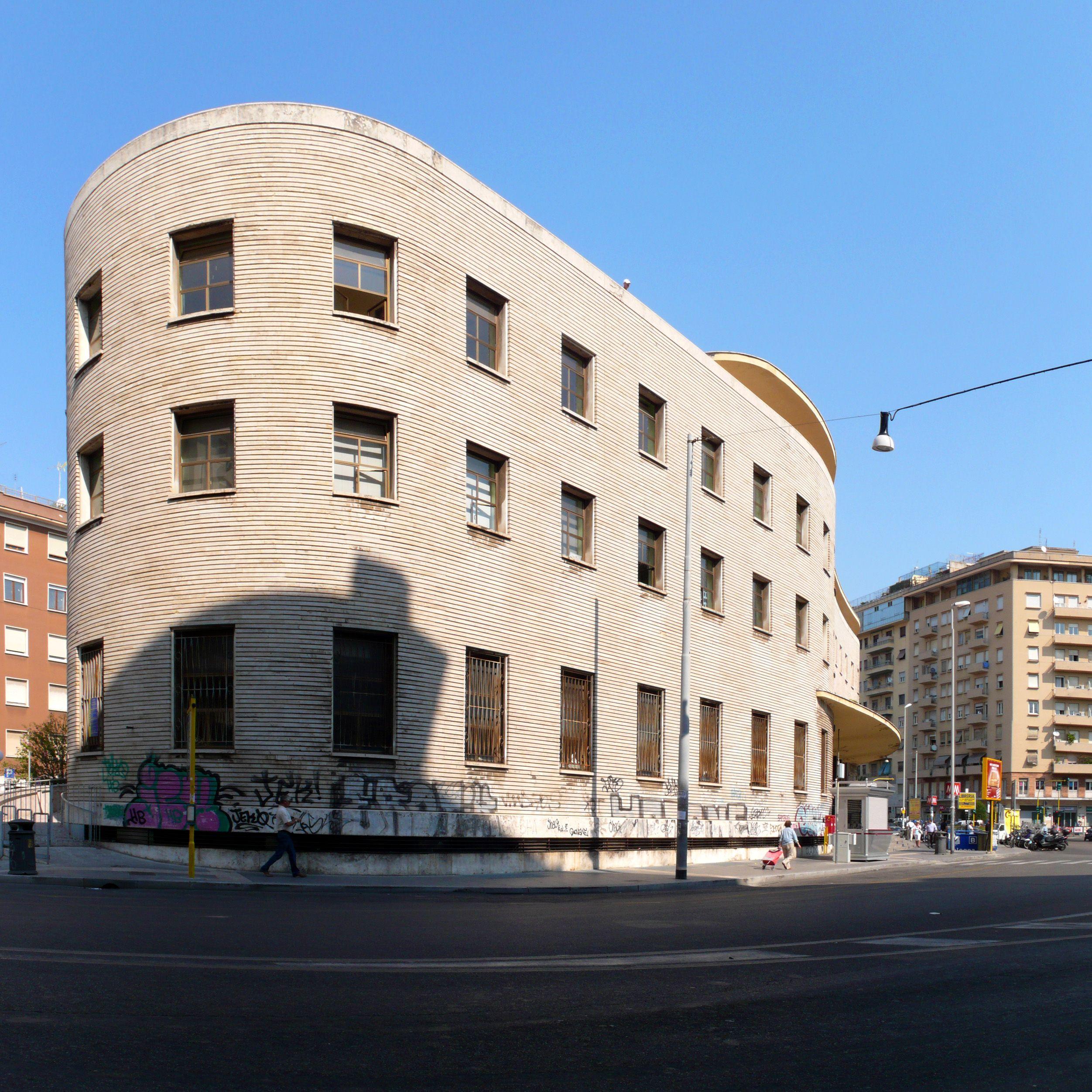 IT Roma Post Office Piazza Bologna Architects Mario