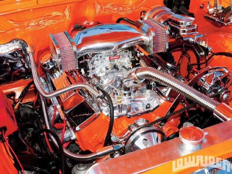 1963 Chevrolet Impala Engine Bay | The jewelry box