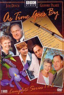 As Time Goes By is a British sitcom that aired on BBC One from 1992 to 2005. Starring Judi Dench and Geoffrey Palmer, it follows the relationship between two former lovers who meet unexpectedly after not having been in contact for 38 years.