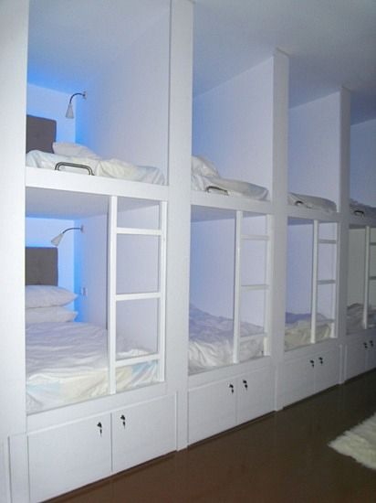 Habitat Cabin Beds : Habitat hostels blue room g ?