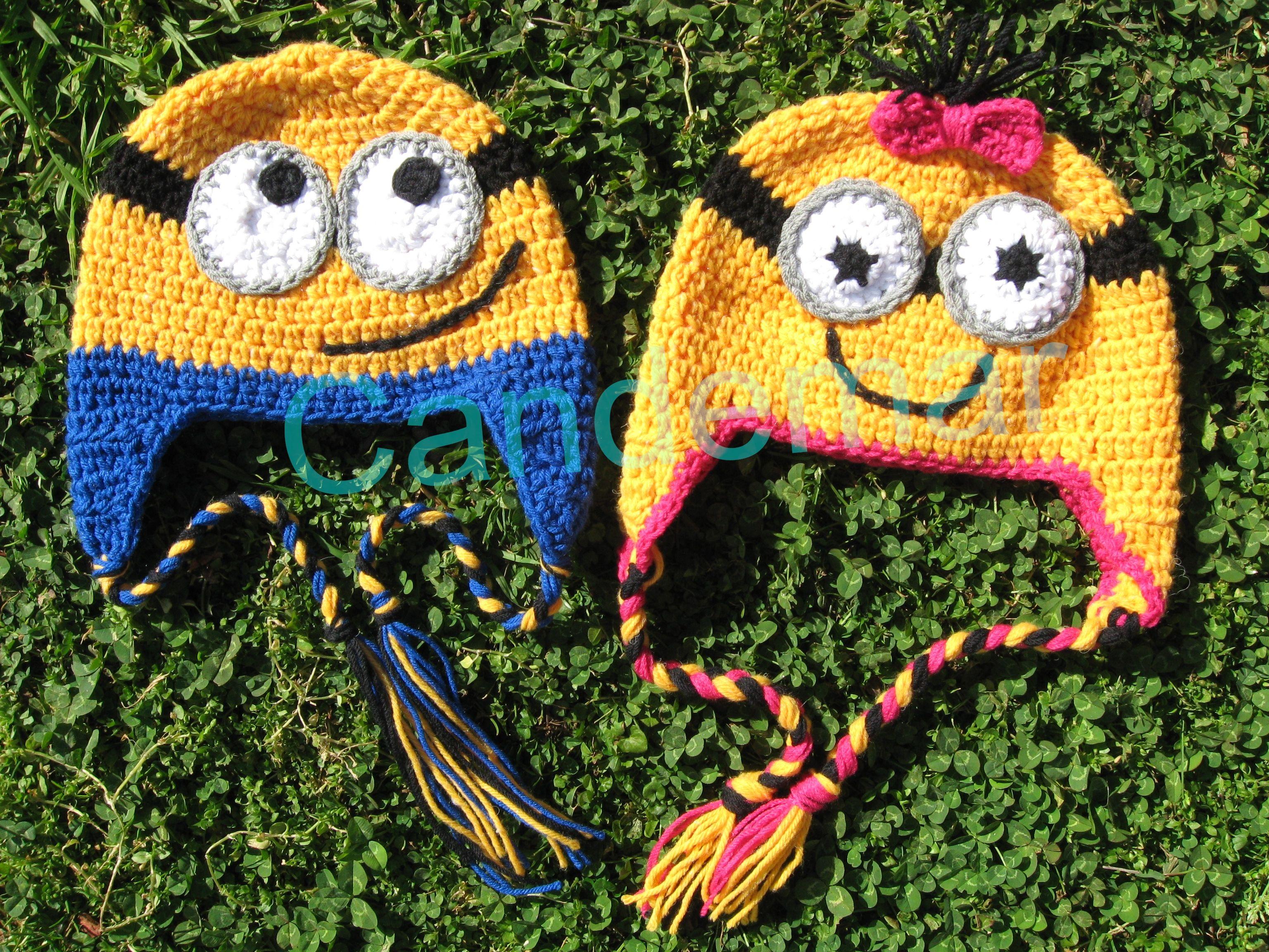 Gorro Minions para nenas y nenes | tejido | Pinterest | Minions ...