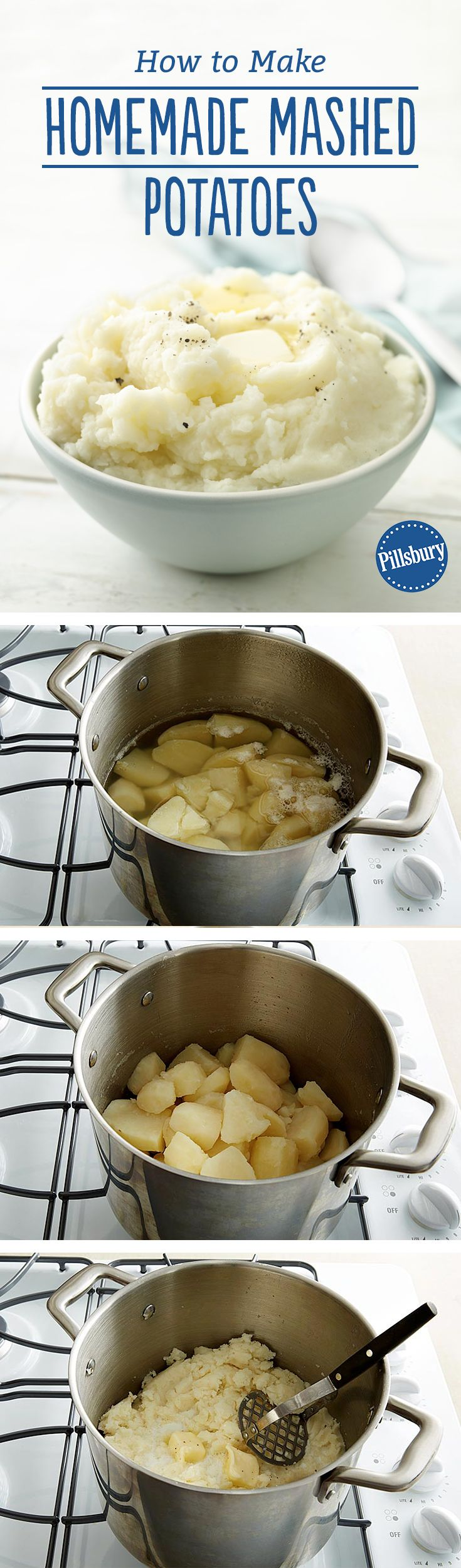 How To Cook Easy Mashed Potatoes
