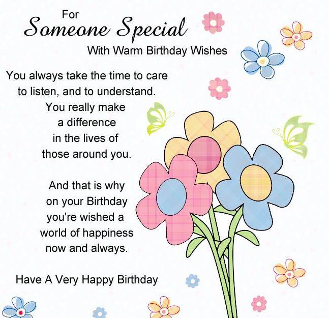 Special Happy Birthday J Special Happy Birthday Wishes Happy