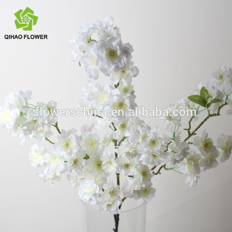 Artificial Cherry Blossom Branches Indoor Decorative Wholesale Wedding Trees For Weddi Cherry Blossom Flowers Cherry Blossom Wedding Decor White Cherry Blossom