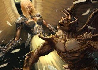 Демоны ебут ангела фото 776-674