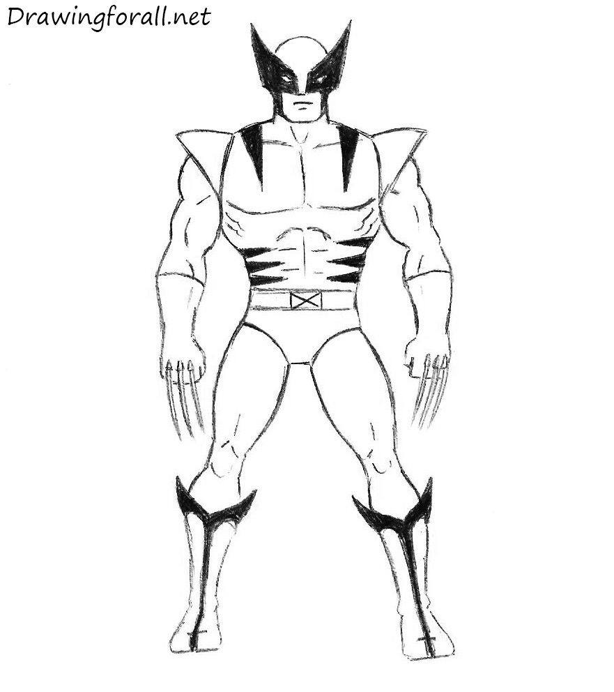 How To Draw Easy Marvel Characters