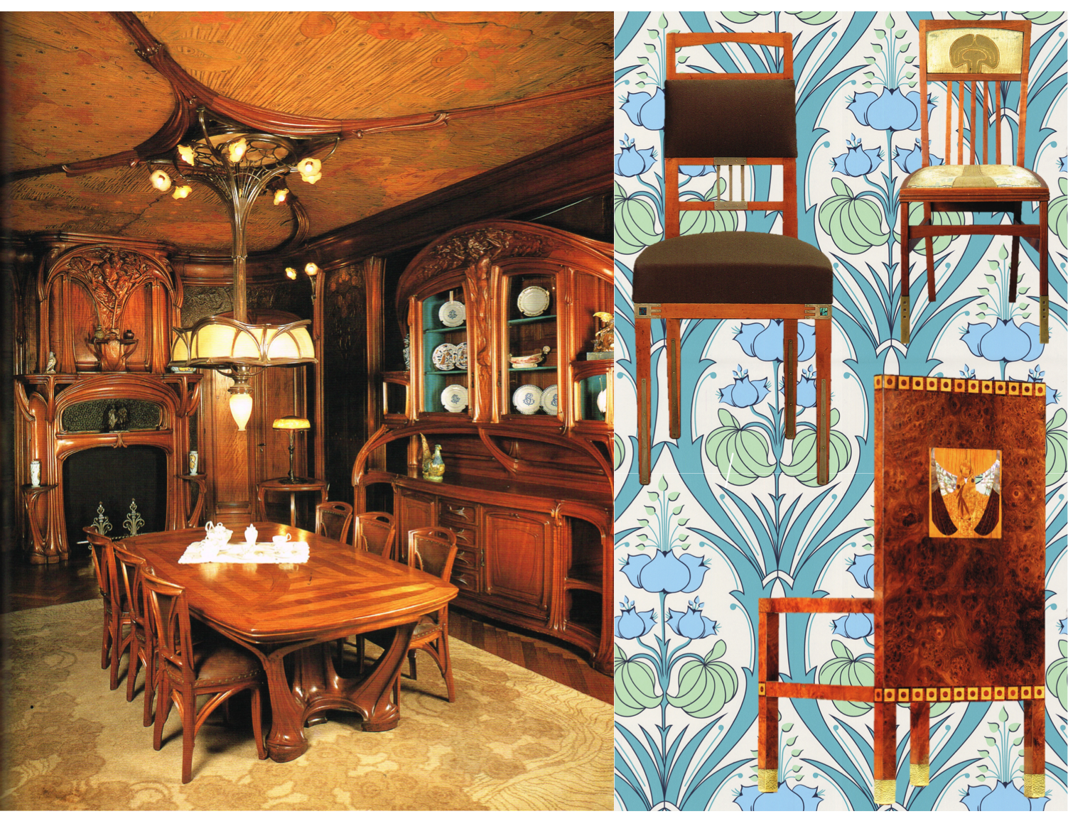 Step back into the world of early 20th century design