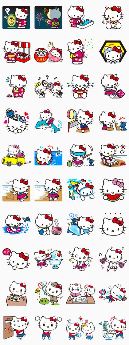 Hello Kitty Summertime Memories Hello Kitty Backgrounds Hello Kitty Images Hello Kitty Wallpaper