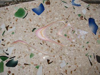 Broken Glass Countertops | Glow In The Dark Concrete Countertops In The  Cayman Islands