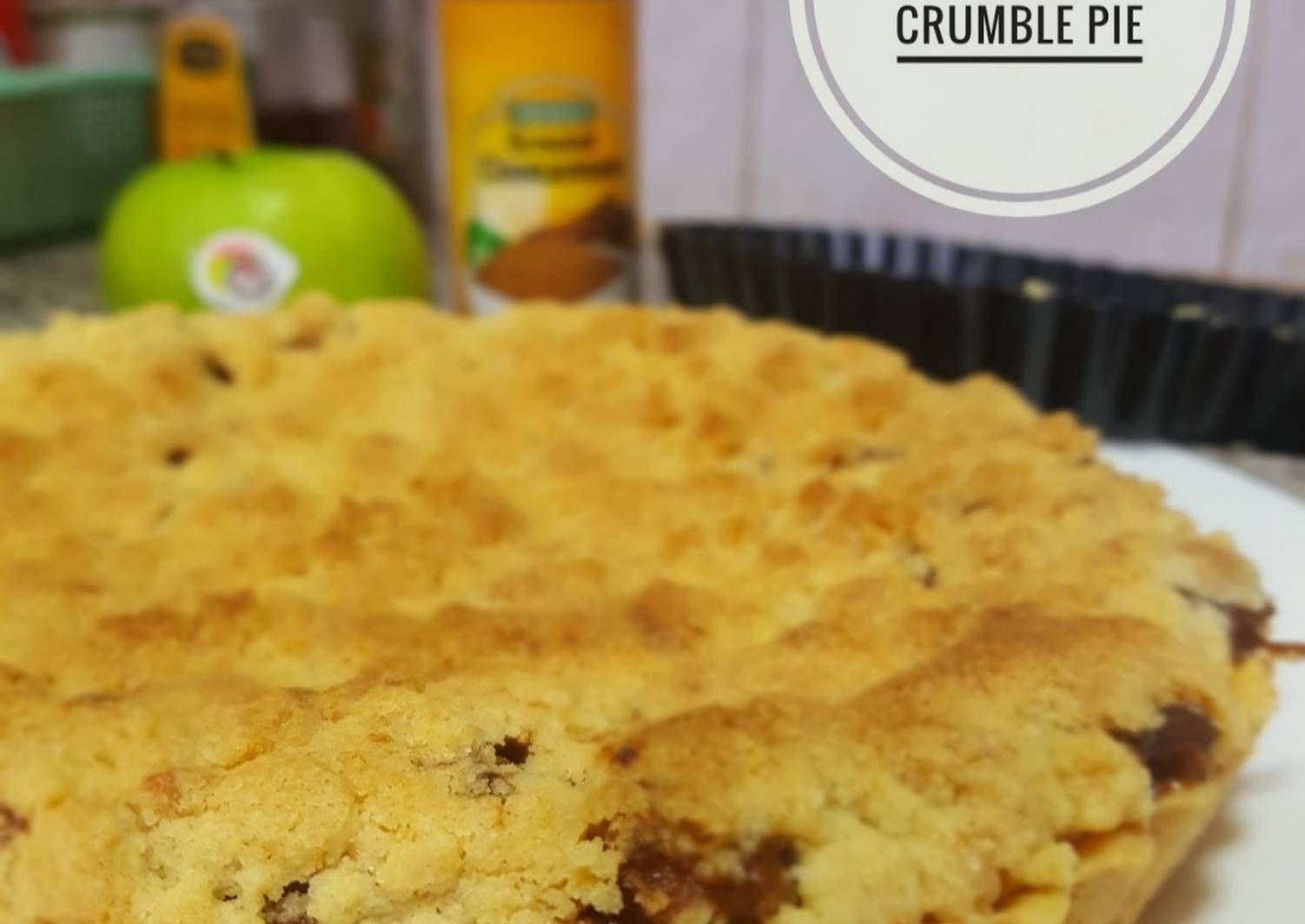 Resep Apple Crumble Pie Oleh Marina Laksmitawati Resep Penggiling Adonan Kayu Manis Pastry