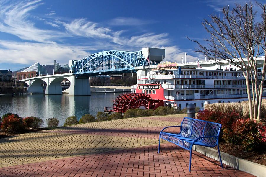 This part of Chattanooga History, The Delta Queen , has left our city and is no longer part of the Chattanooga Riverfront and Coolidge Park area...... Hope she is restored and finds glory in her new home!