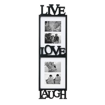 Live Laugh Love 4 Opening Picture Frame On Sale From Target