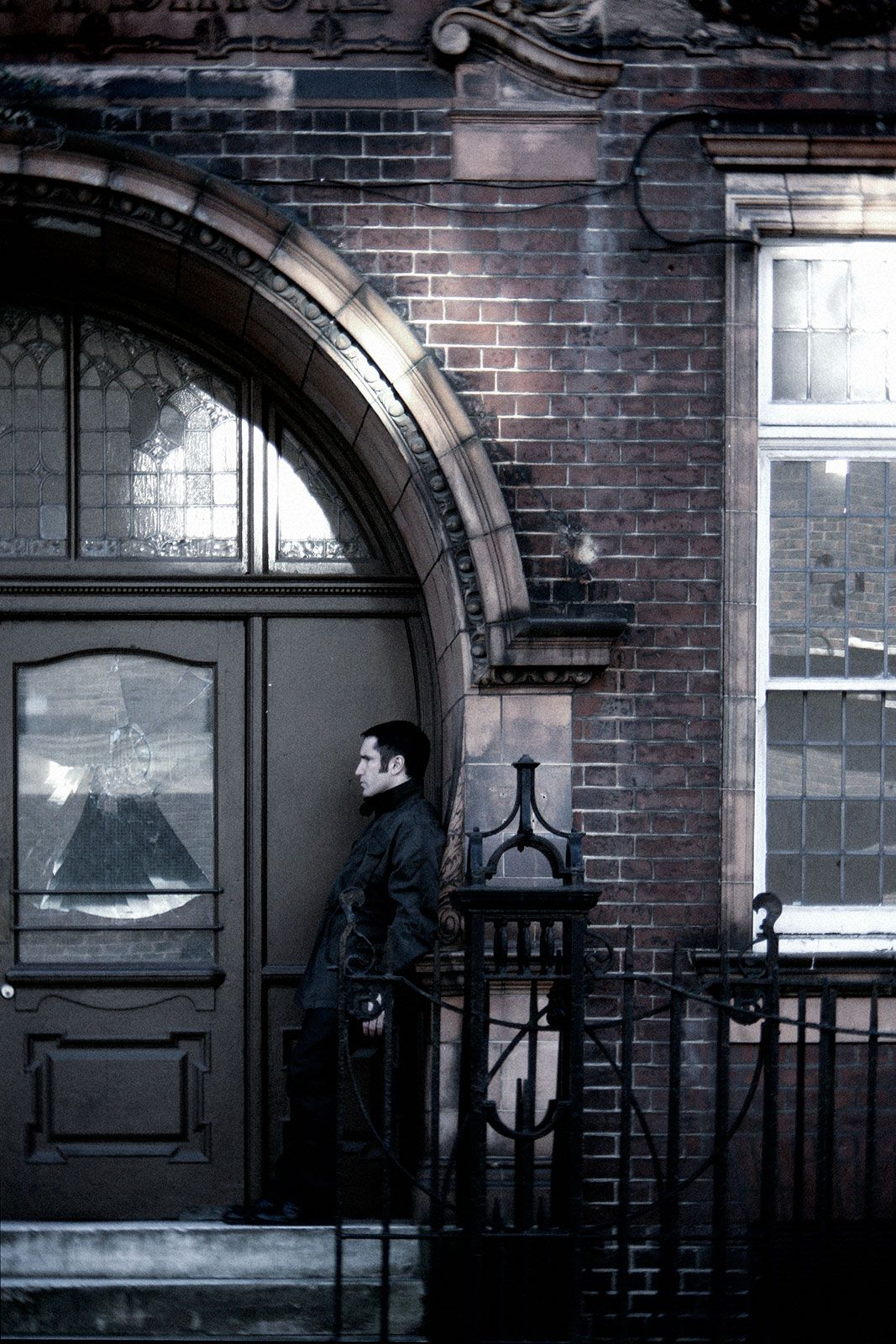 Trent Reznor, London, 2007. Promo photos by Rob Sheridan for Nine ...