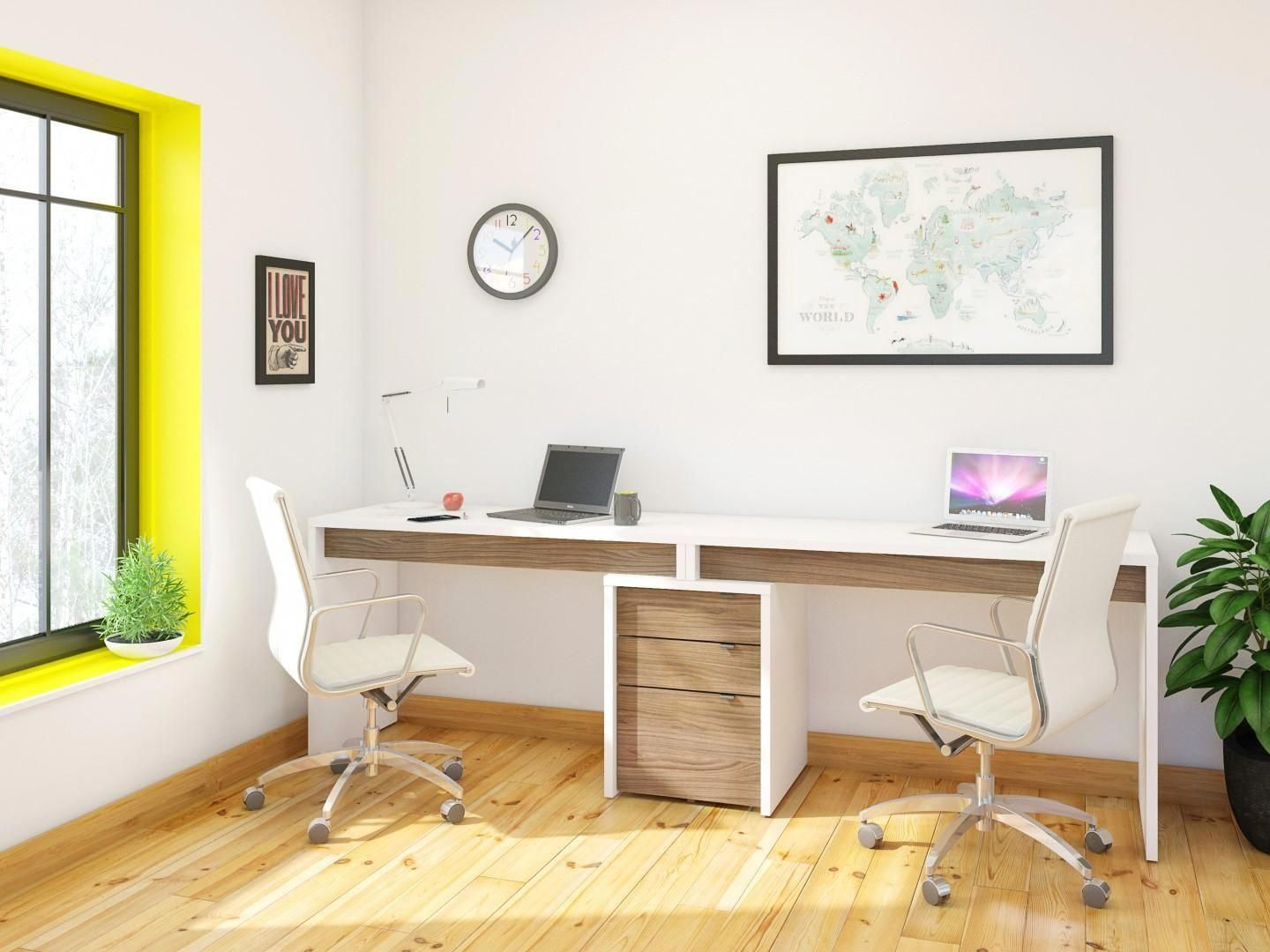 Home Office Wall Home Study Decor Small Office Interior Design