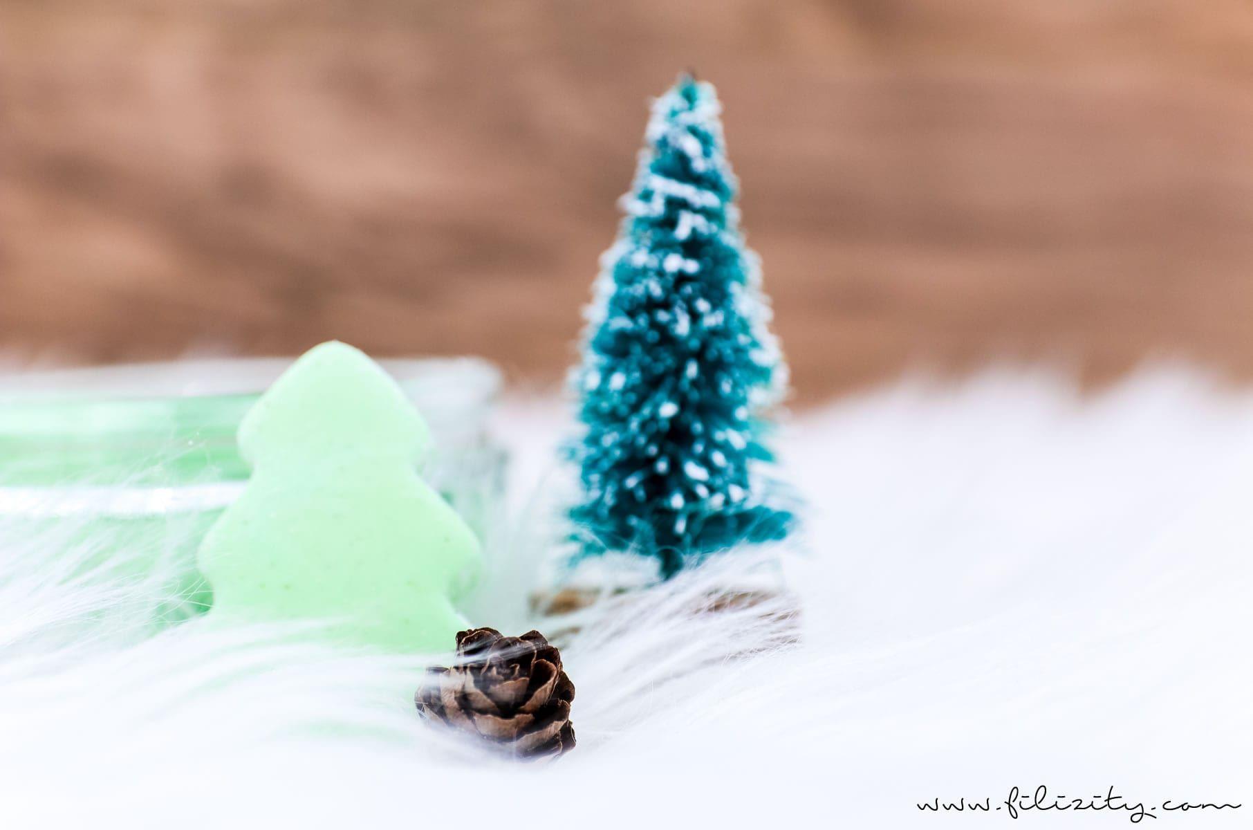 """weihnachts-geschenkidee: diy knetseife """"tannenbaum"""" selber"""