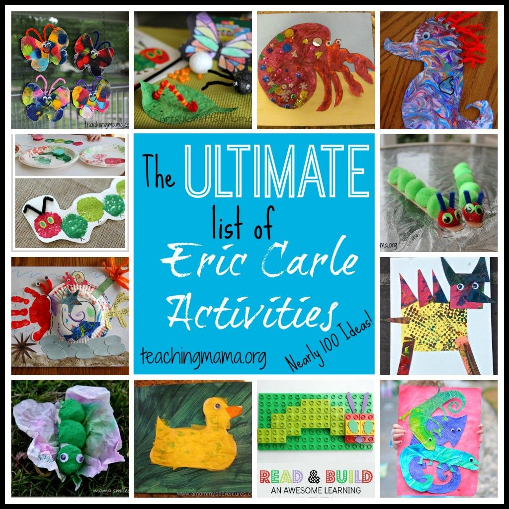 The Ultimate List Of Eric Carle Activities Nearly 100