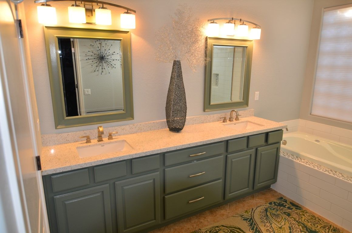 Curava Savaii Recycled Glass Countertop With Eased Edge