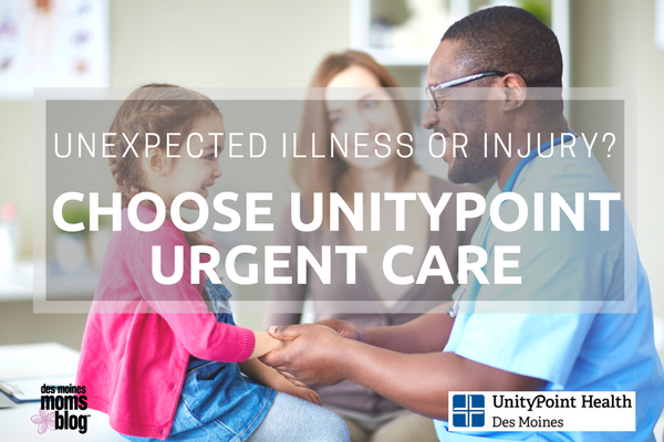 Unexpected Illness or Injury? Choose UnityPoint Urgent Care